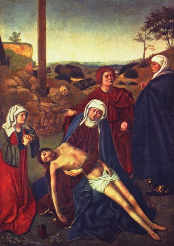 Петрус Кристус. Оплакивание Христа