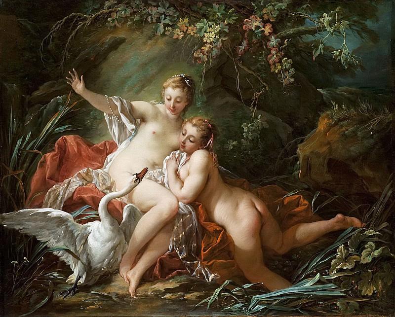 Francois Boucher - Leda and the Swan