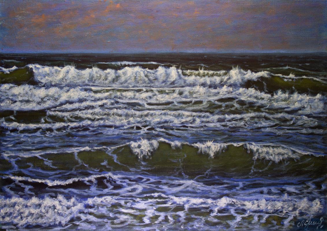 Valery Levchenko. № 615  Морской пейзаж.