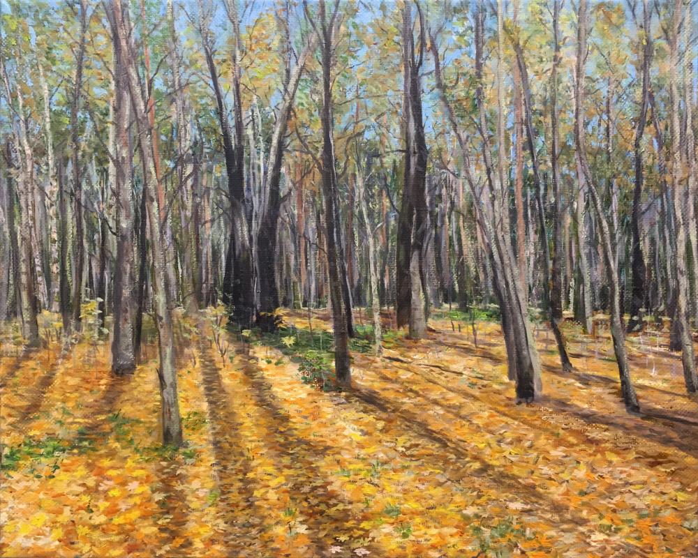 Albert Safiullin. Autumn forest. Pokrovskoe-Streshnevo
