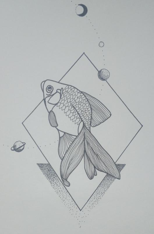 Кира Котова. Tattoo sketch 2