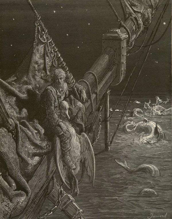 Поль Гюстав Доре. Поэма о старом моряке. Сюжет 17
