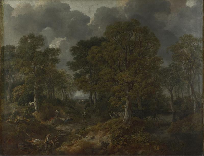 Томас Гейнсборо. Корнардский лес
