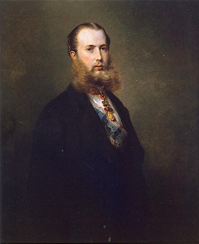 Franz Xaver Winterhalter. Maximilian I, Emperor of Mexico