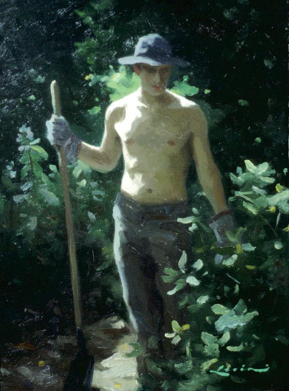 Стивен Дж Левин. Садовник