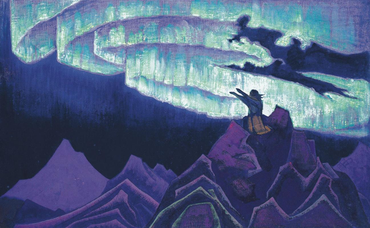 Nicholas Roerich. Moses Driver