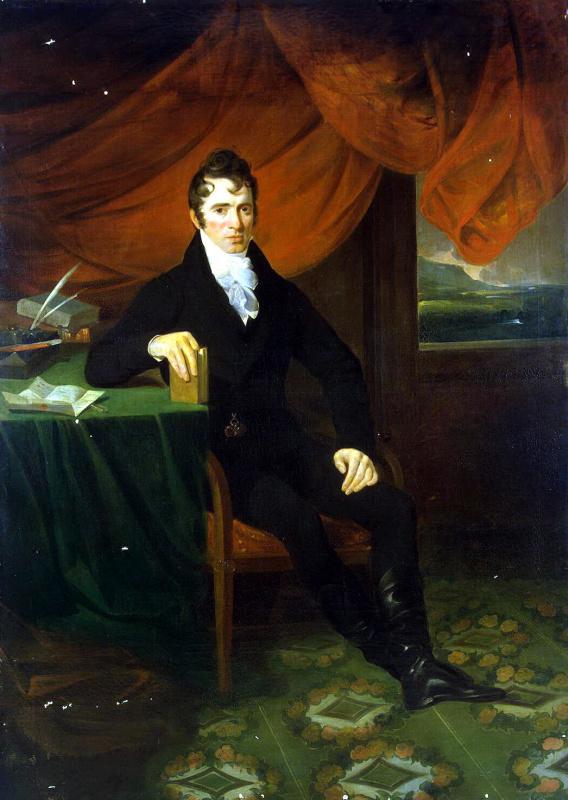 William Allan. Portrait of a man