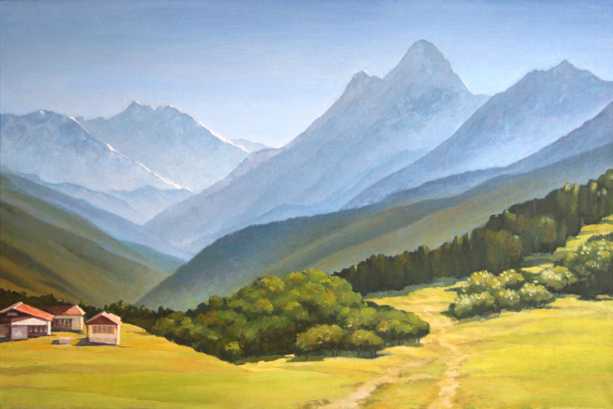 Alan Albegov. Himalayas