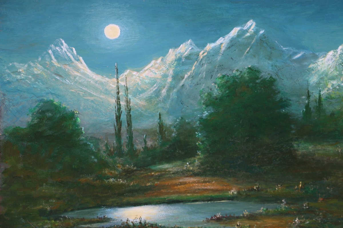 Najaf Mamedali oglu Mamedov. MOONLIT NIGHT