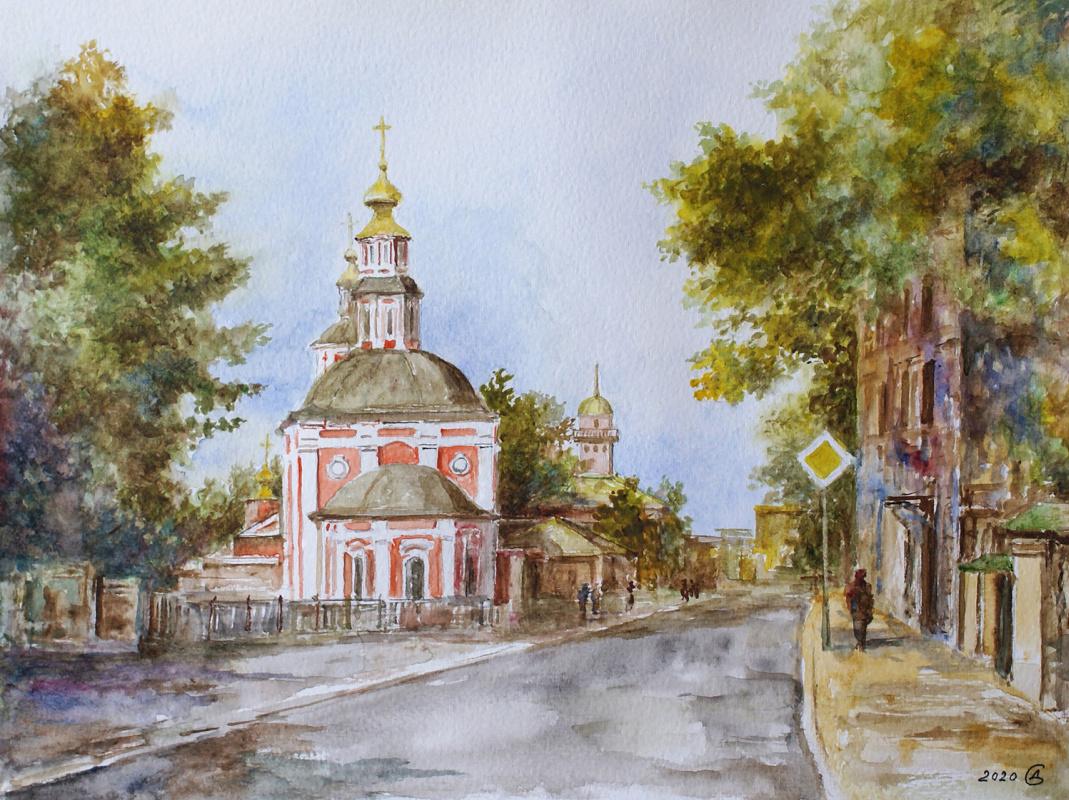 Сергей Владимирович Дорофеев. Moscow, Nikoloyamskaya street