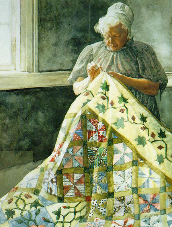 Дебора Чабриан. Пожилая женщина