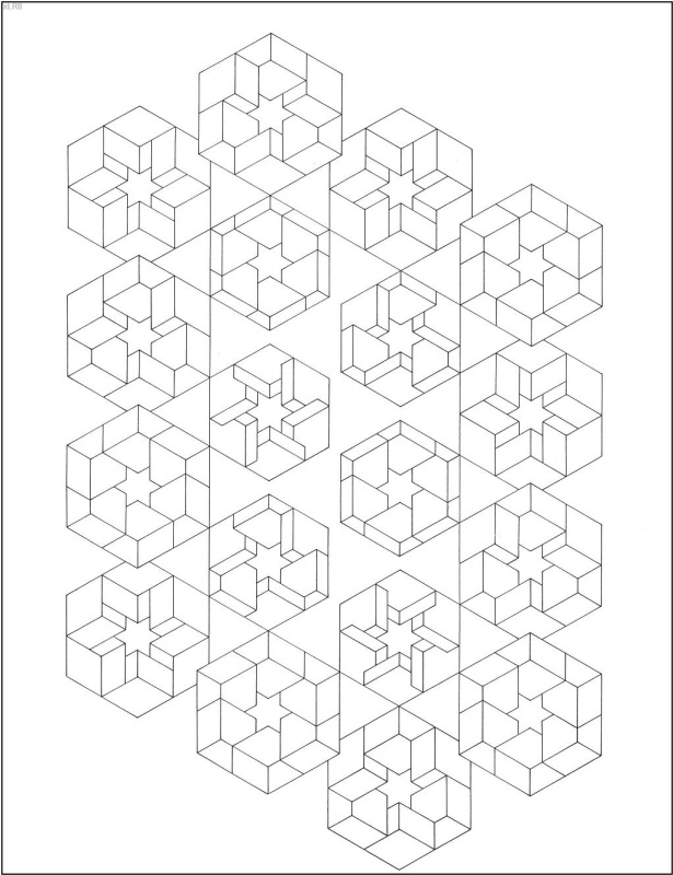 Коити Сато. Оптические иллюзии 19