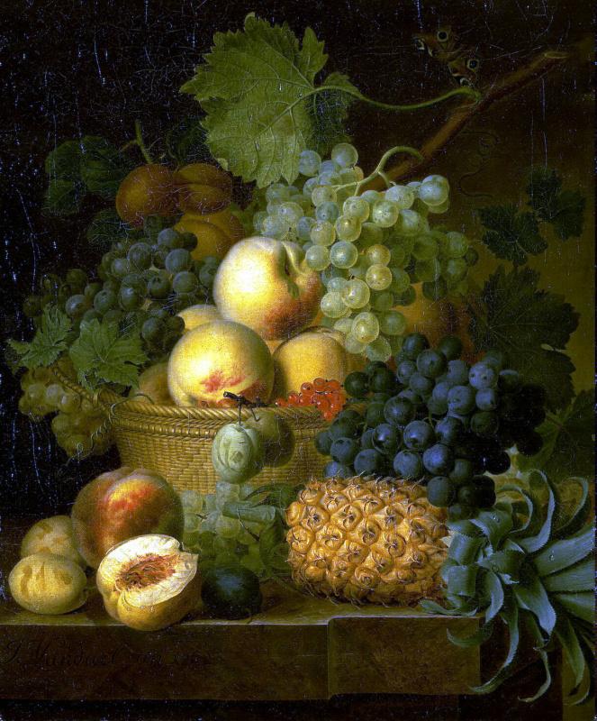 Жан Франсуа ван Даль. Корзина с фруктами