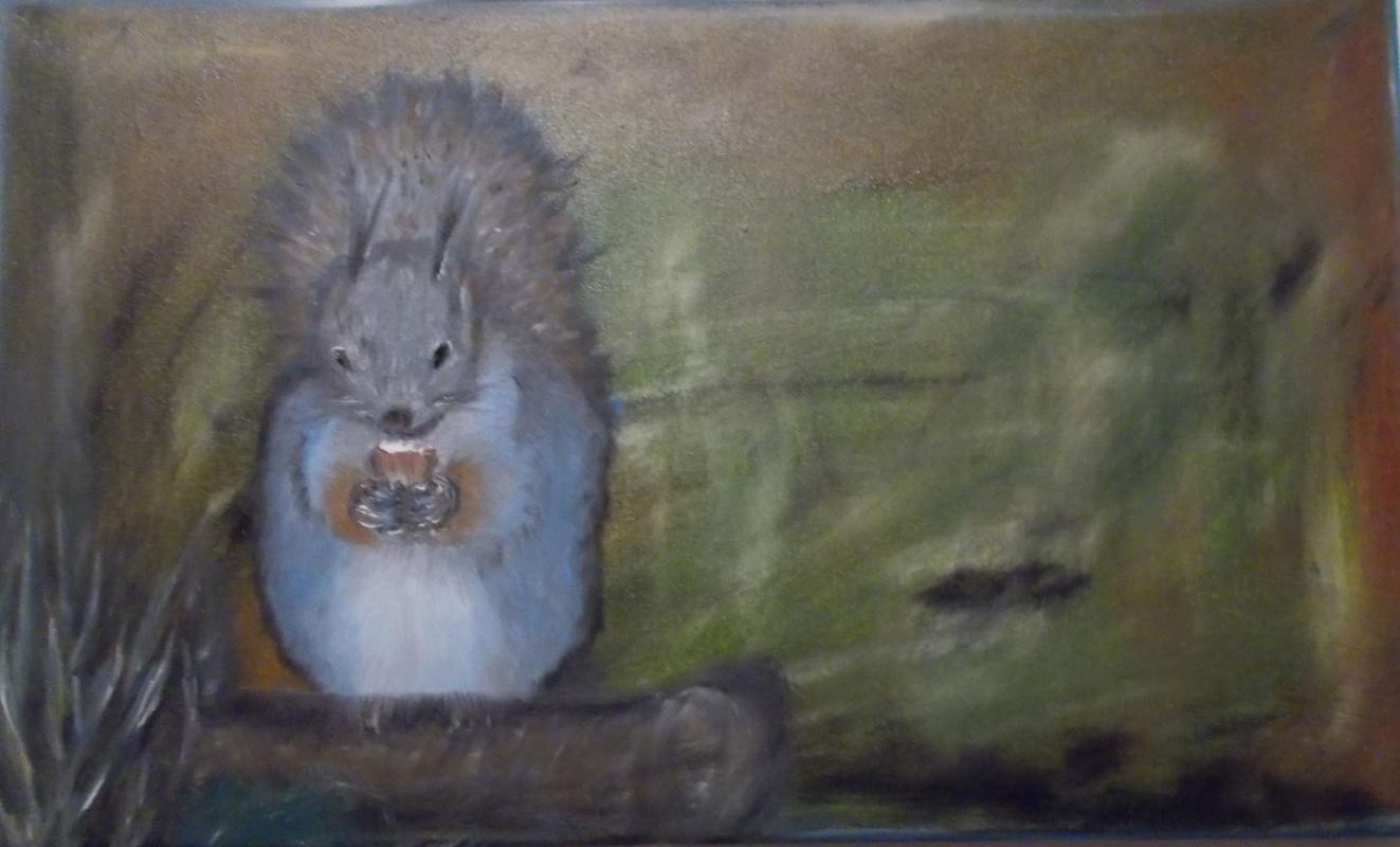 Irina Pavlovna Alekseeva. Squirrel