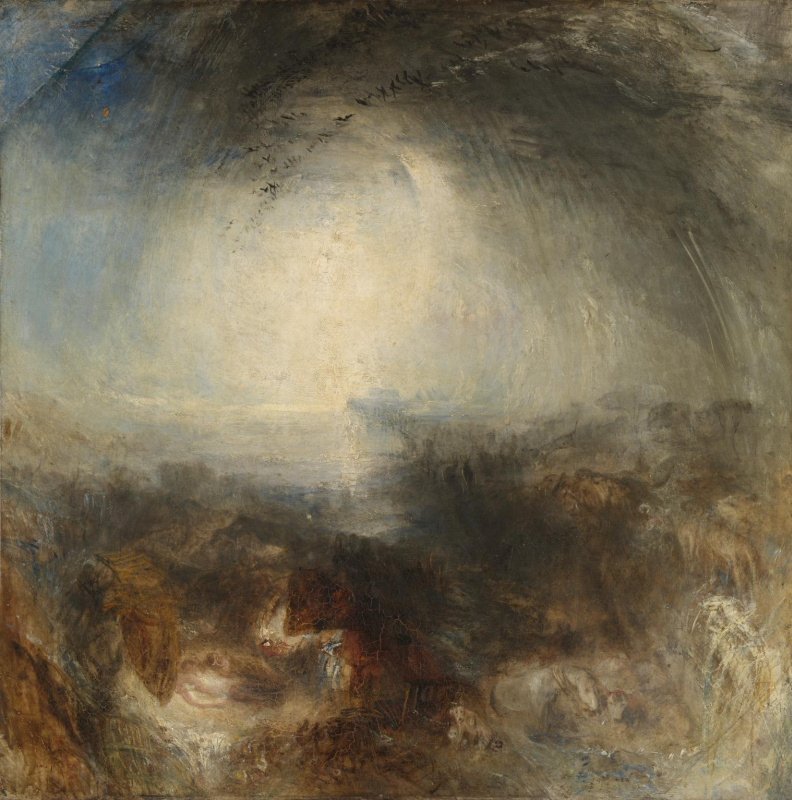 Joseph Mallord William Turner. Shade and darkness: the evening before the Flood