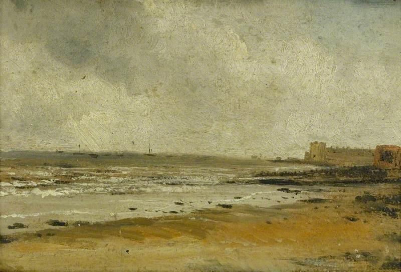 John Constable. Harwich Beach, Essex