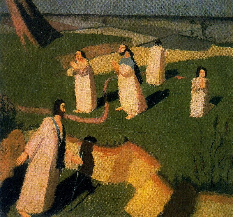 Stanley Spencer. Prayer