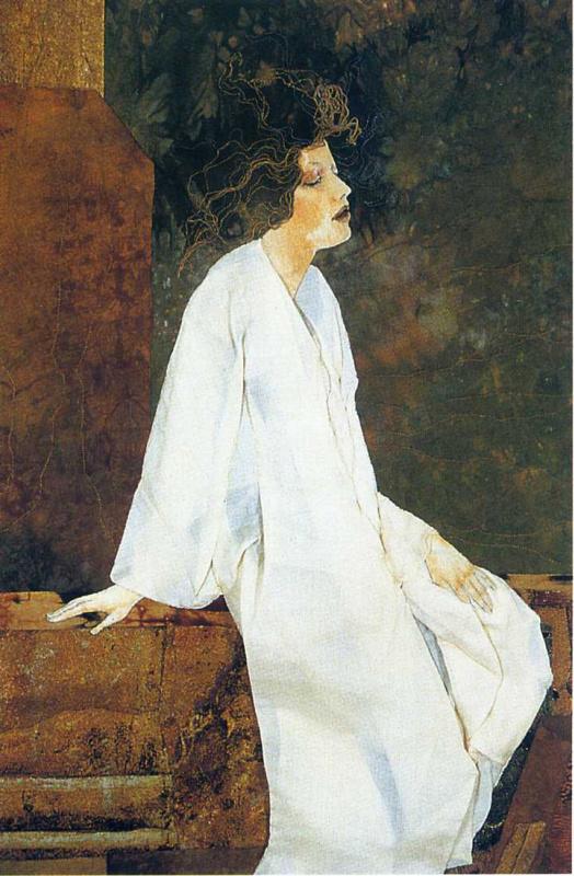 Джоан Колвин. Девушка в белом