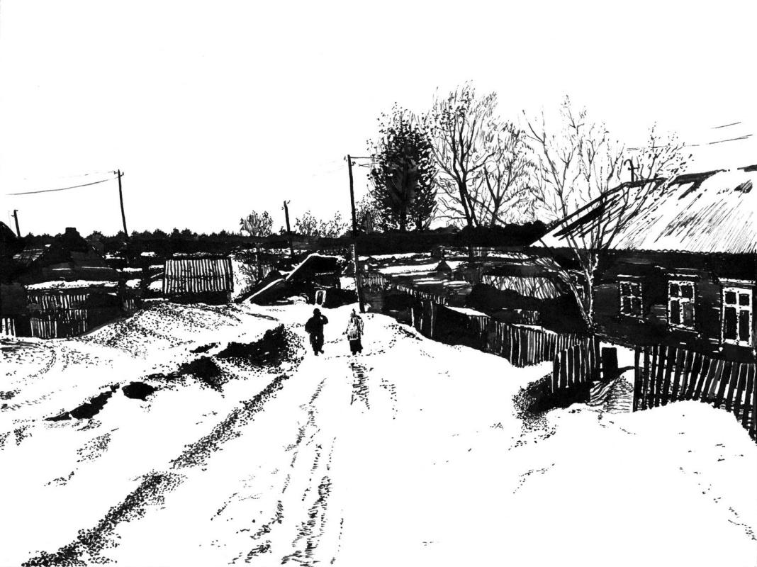 Vladimir Vasilyevich Abaimov. In the Middle of Winter 5