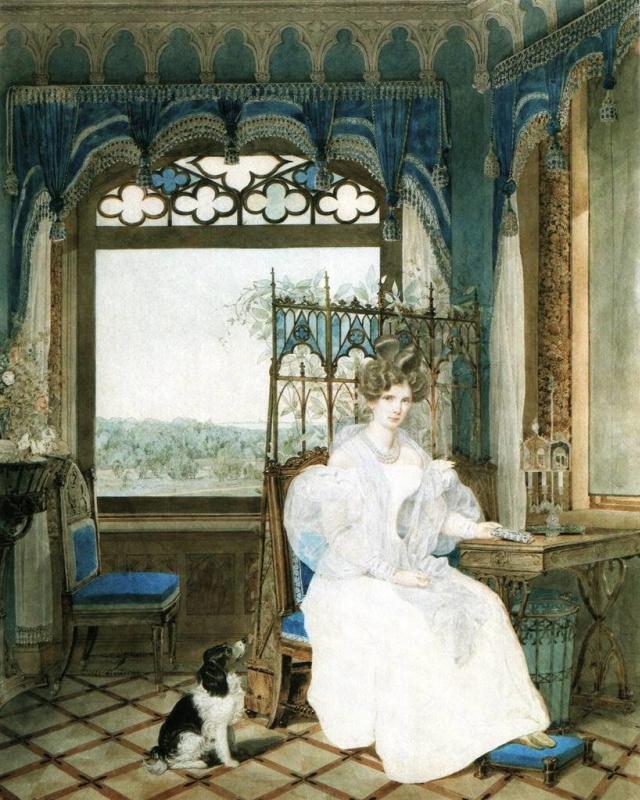 Александр Павлович Брюллов. Императрица Александра Федоровна 1830 г.