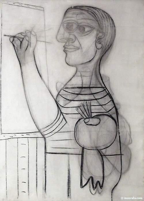 Пабло Пикассо. На холсте