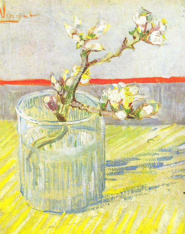 Винсент Ван Гог. Ветка цветущего миндаля