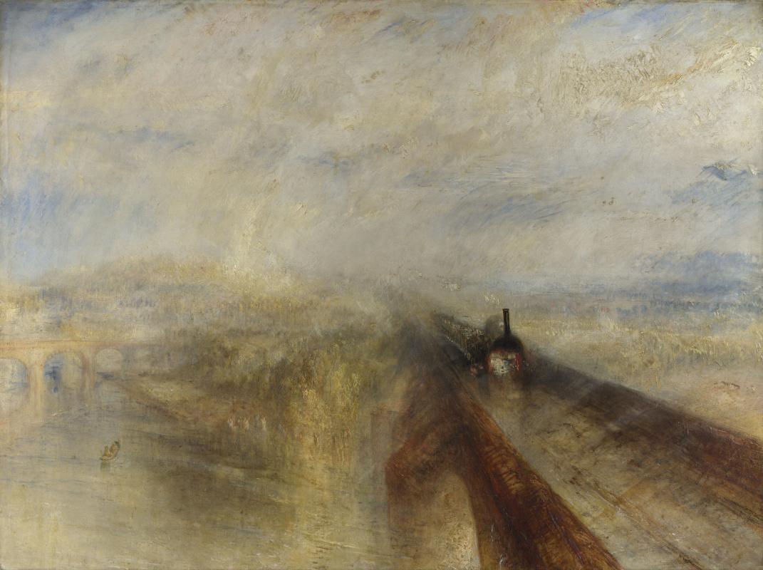 Джозеф Мэллорд Уильям Тёрнер. Дождь, пар и скорость. Большая западная железная дорога