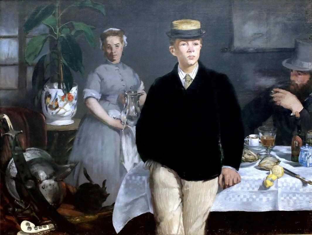 Edouard Manet. Breakfast in the Studio