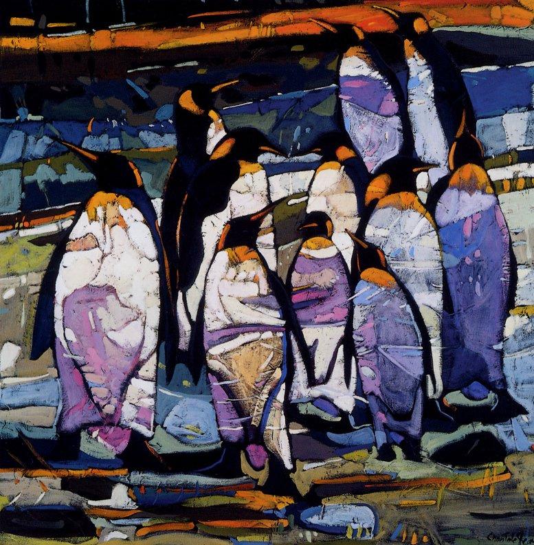Жан Шанталь. Пингвины