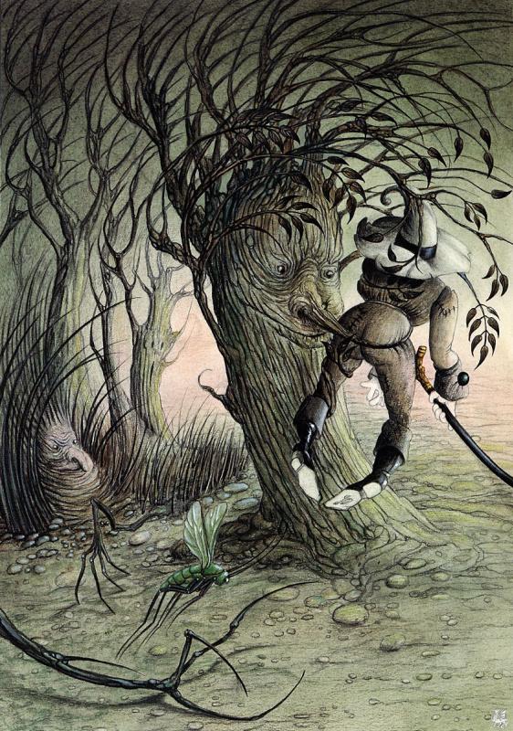Келек. Дерево