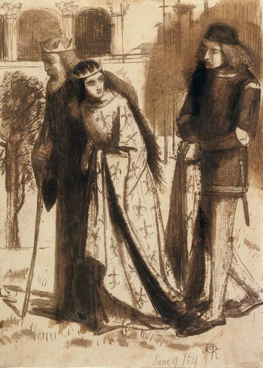 Данте Габриэль Россетти. Слуга королевы