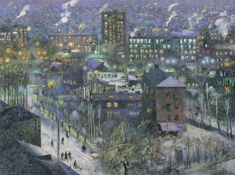 Victor Ivanovich Zaretsky. Labor city