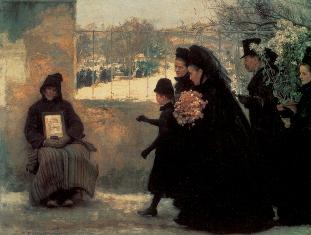 Emil Friant. Grief