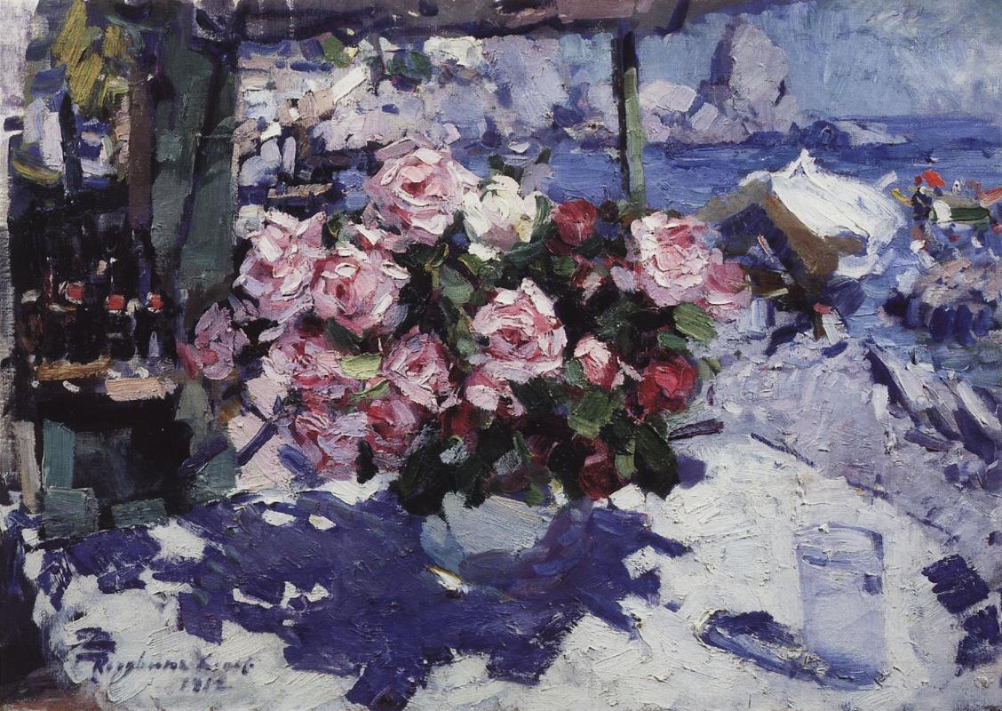 Константин Алексеевич Коровин. Розы