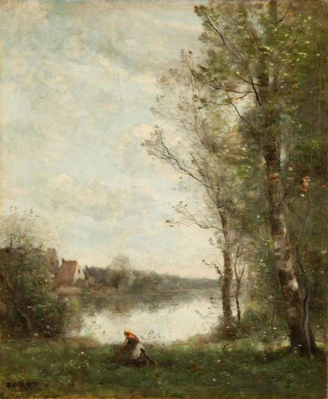 Камиль Коро. Пруд в Виль д'Авре