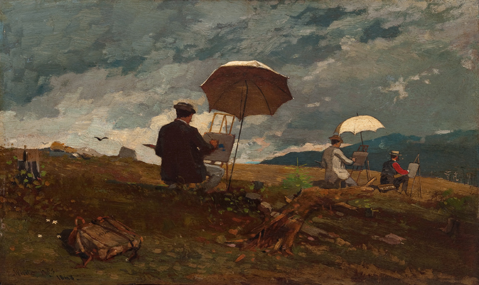 Winslow Homer. Artists in the White mountains