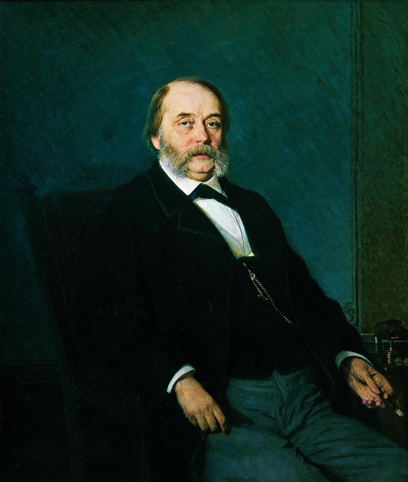 Иван Николаевич Крамской. Портрет писателя Ивана Александра Гончарова