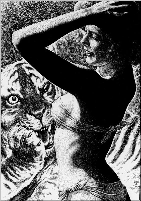 Вирджил Финли. Тигр