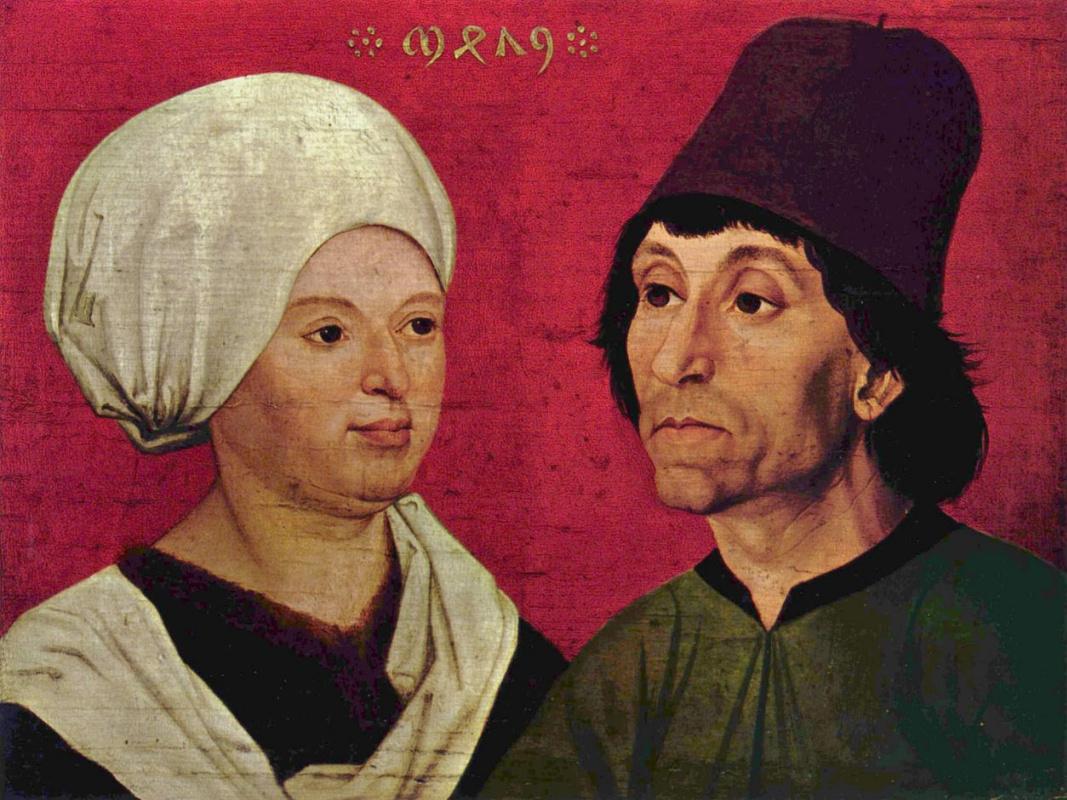 Ханс Шюхлин. Портрет супружеской пары