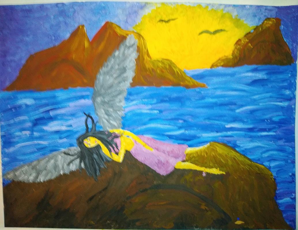 Zina Vladimirovna Parisva. Fallen Angel