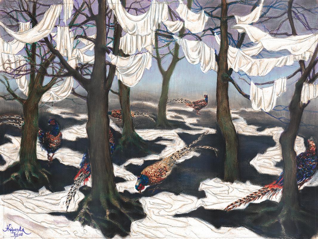 Анастасия Вячеславовна Карасева. Зима