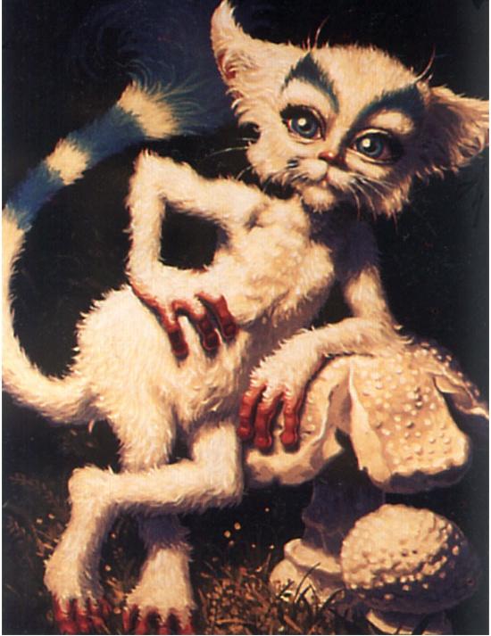 Грег Хильдебрандт. Кот