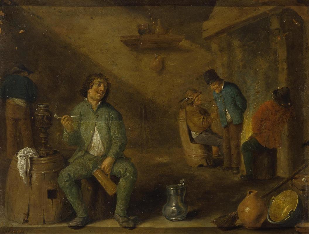 David Teniers the Younger. Smoker