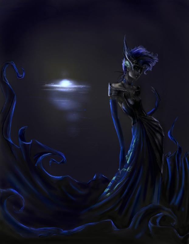 Синяя королева