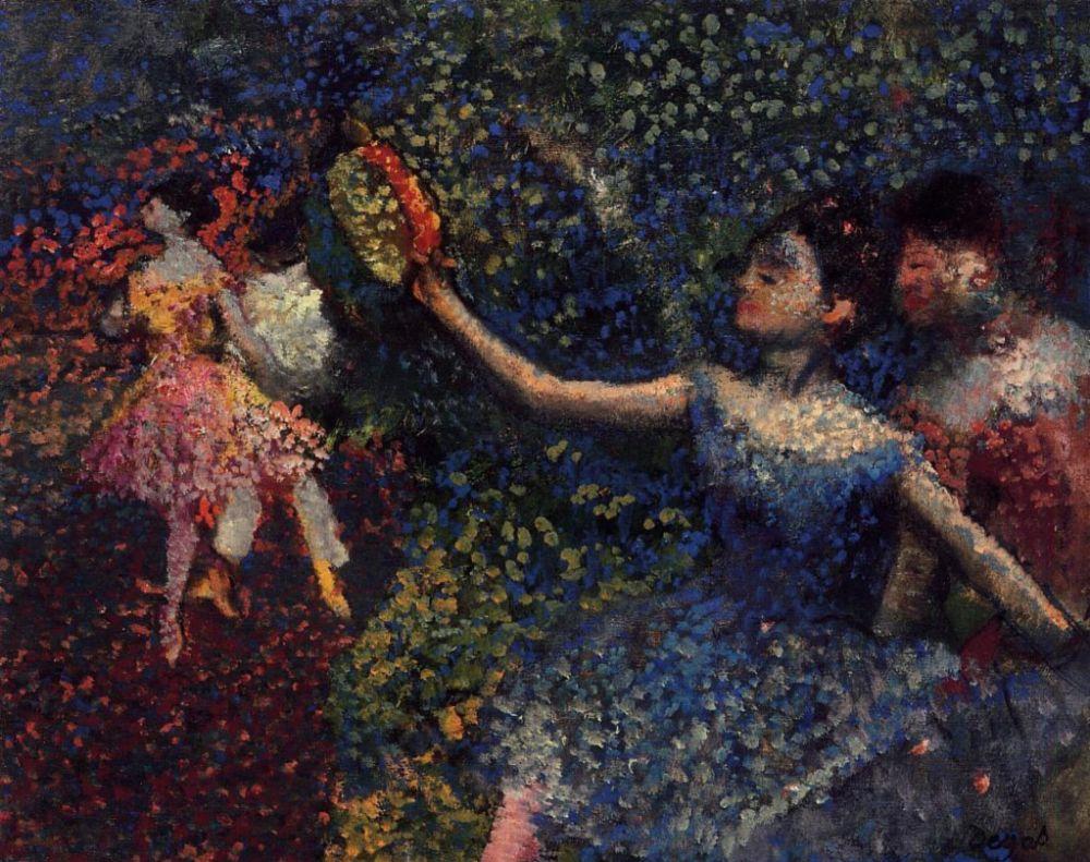 Эдгар Дега. Балерина в синей пачке