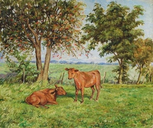 Olga Alexandrovna Romanova. Calves