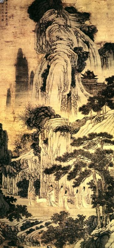 Шен Чжоу. Пейзаж 040