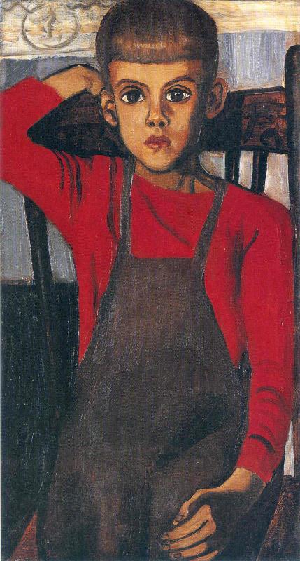 Алиса Нил. Мальчик в фартуке