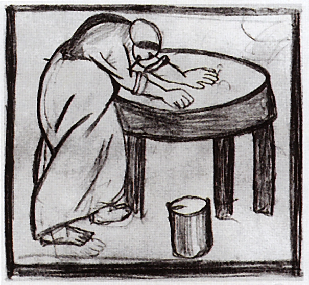 Kazimir Malevich. Laundress