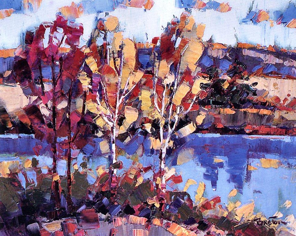 Yvonne Breton. Autumn